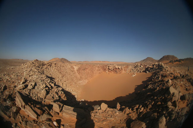 Pristine Impact Crater Discovered in Egypt Desert