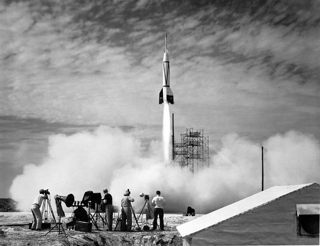 Space History Photo: Bumper V-2 Launch
