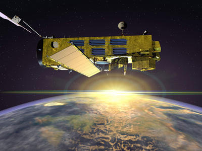 Huge Satellite Loses Contact with Earth
