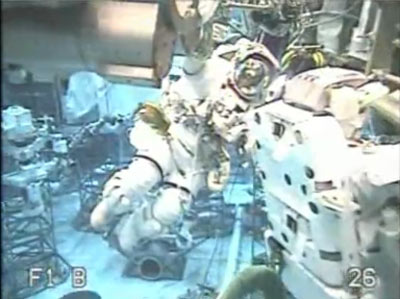 Giant Swimming Pool Helps NASA Plan Emergency Spacewalks