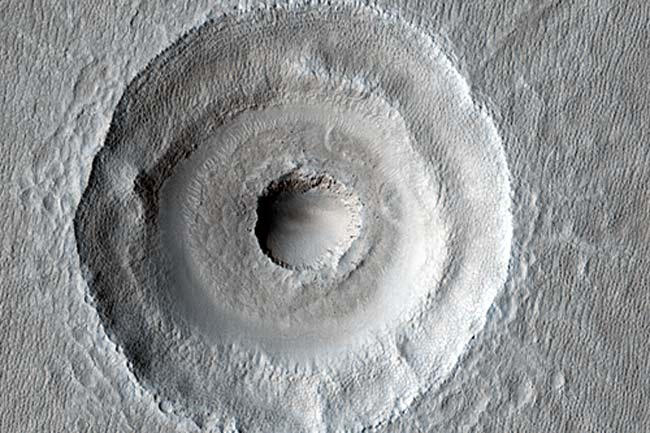 Bull's-Eye on Mars Revealed