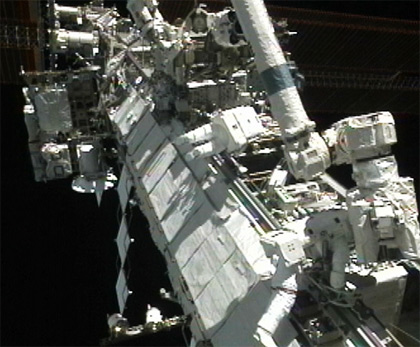 Astronauts Set to Attempt More Space Station Repairs Wednesday