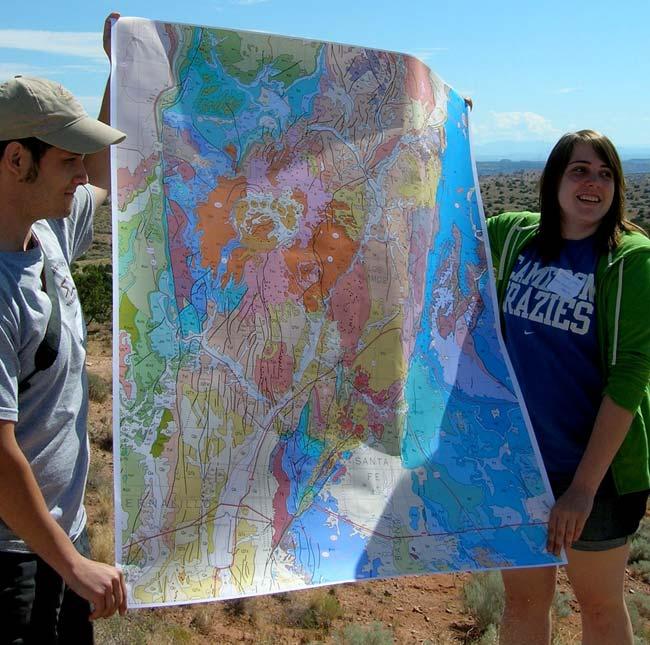 Ancient Meteorite Impact Shattered Santa Fe