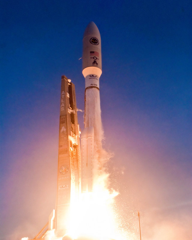 Air Force Launches Advanced New Military Satellite