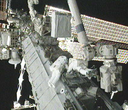 Astronauts Say Tricky Space Station Repair a Success