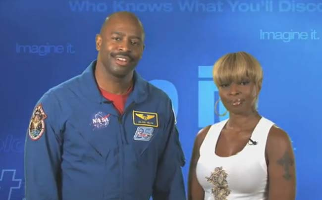 NASA Recruits Singer Mary J. Blige to Inspire Young Women