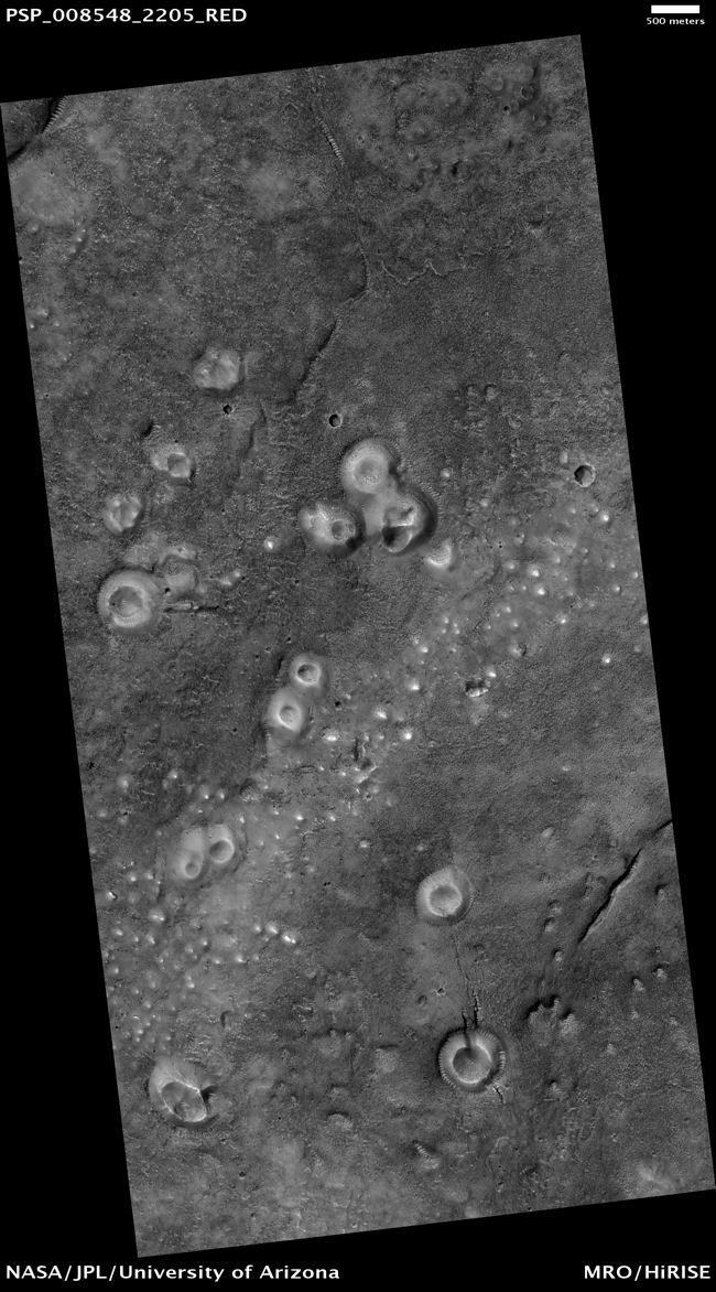 Mud Volcanoes May Help Search for Life on Mars