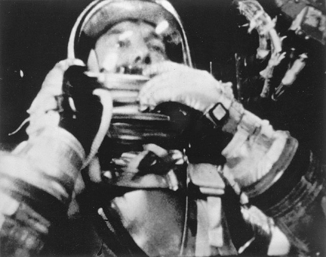 An American in Space