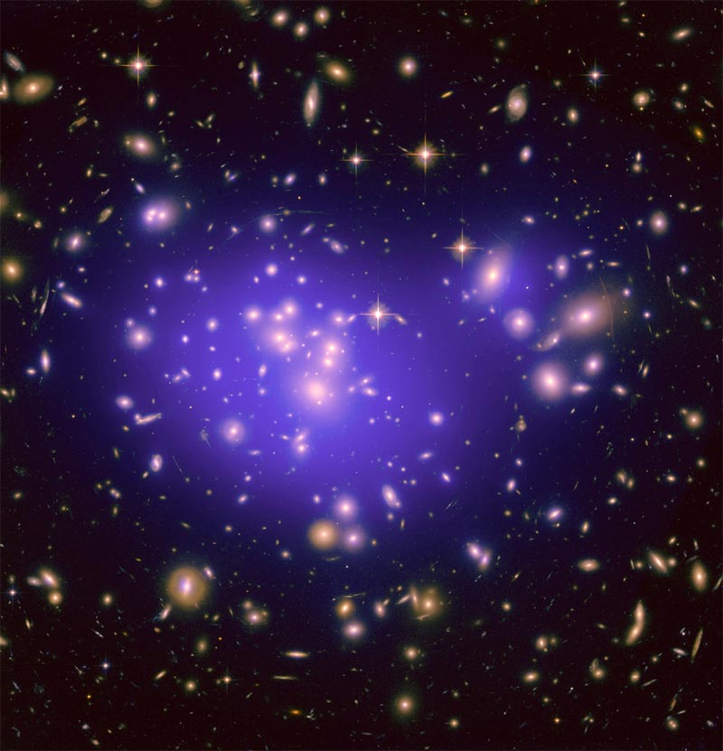 Dark Energy Mystery Illuminated By Cosmic Lens