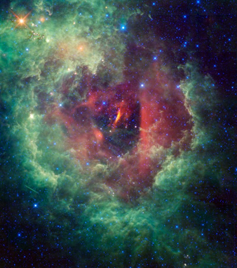 New Cosmic Photo Reveals Eye-Catching Rosette Nebula