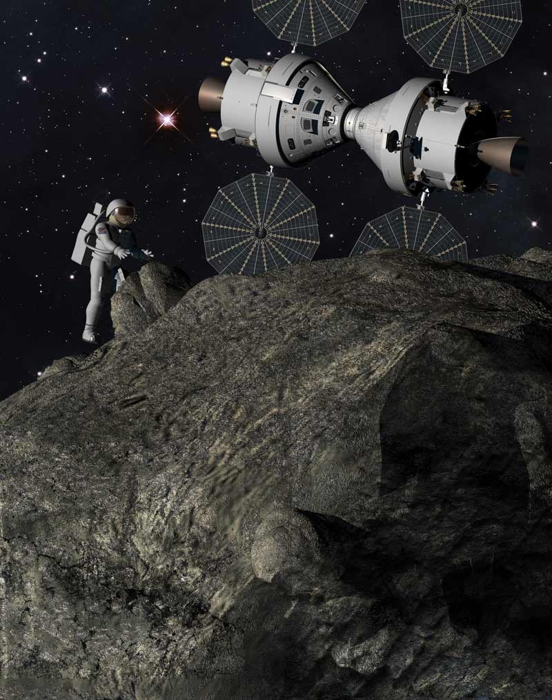 Operation 'Plymouth Rock': Astronauts on an Asteroid