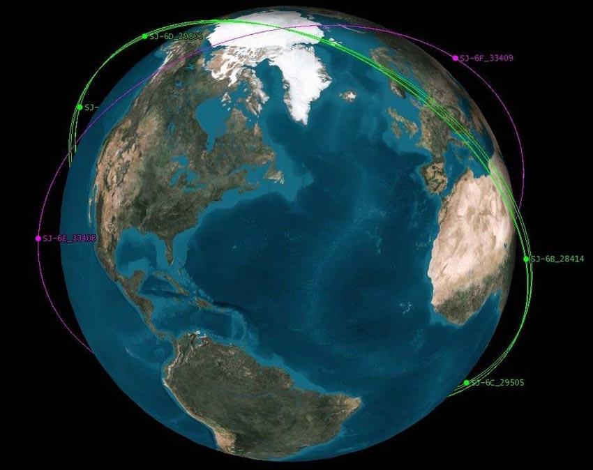 Chinese Satellites Bump During Secret Maneuvers