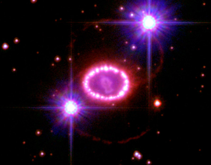 Guts of Exploded Star Revealed
