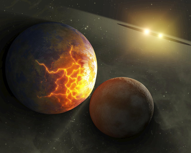 When Worlds Collide, Chances for Alien Life Dwindle