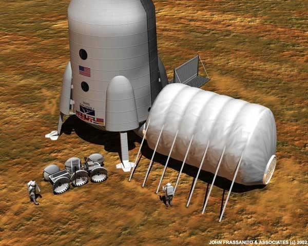 Cyborg Astronauts Needed to Colonize Space