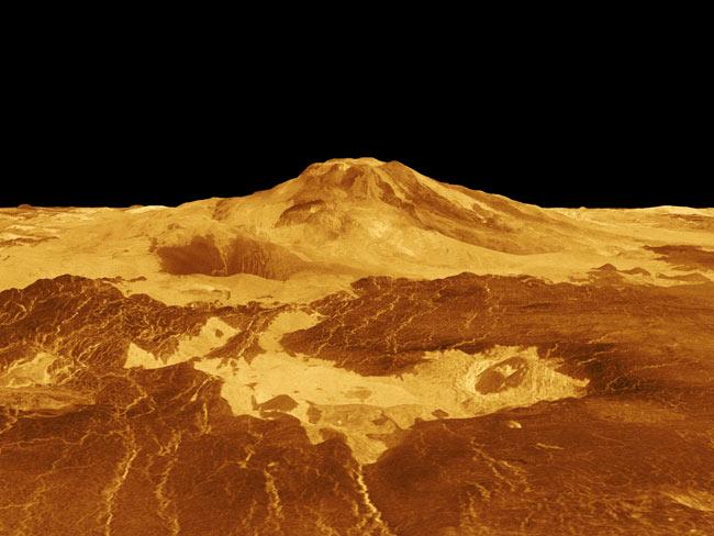 Hellish Venus Atmosphere May Have Had Cooling Effect