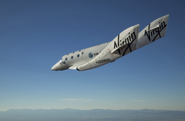 Virgin Galactic's Private Spaceship Makes First Solo Glide Flight