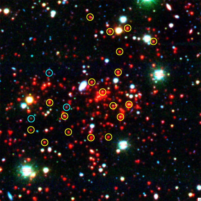 Most Massive Galaxy Cluster of Early Universe Discovered