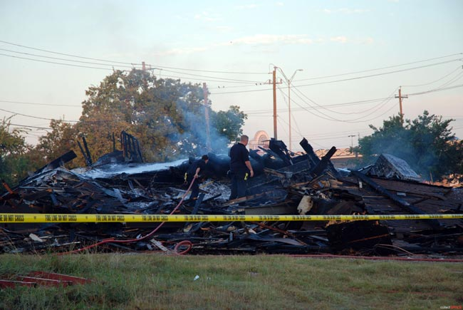 Shuttered Astronaut Hangout Destroyed By Fire