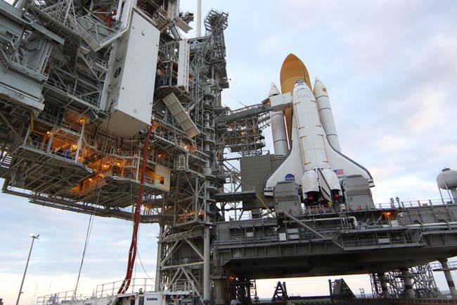 Final Flight of Space Shuttle Discovery Set for Nov. 1 Launch
