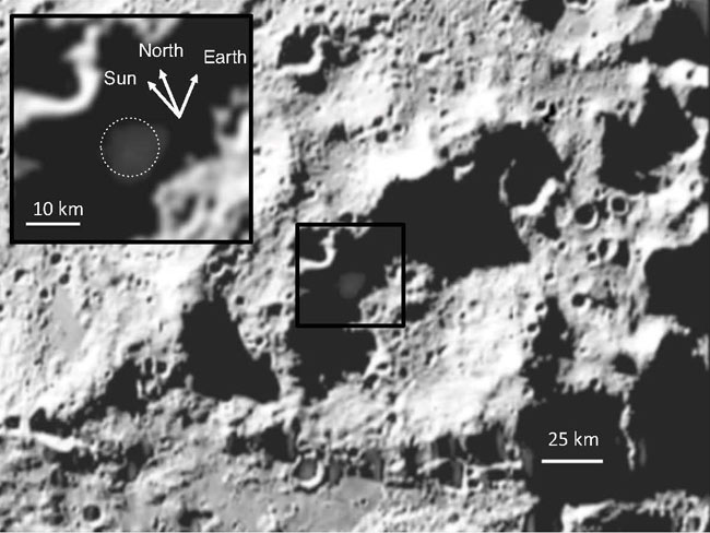 Moon Crater Has More Water Than Parts of Earth