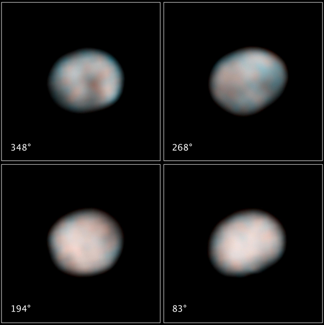 As the Asteroid Turns: Hubble Records New Video of Asteroid Vesta