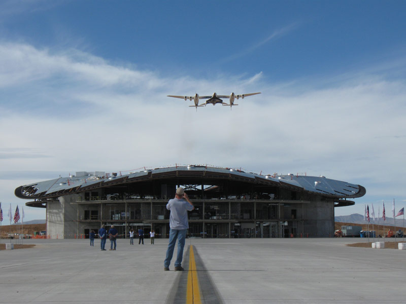 N.M. Spaceport Kicks Into High Gear for Commercial Spaceflight