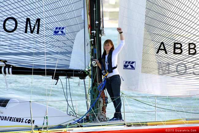 Teen Sailor Lost at Sea Meets NASA Rescuers