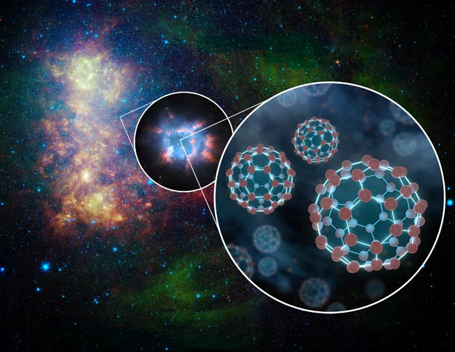 'Buckyball' Molecules Discovered in Another Galaxy