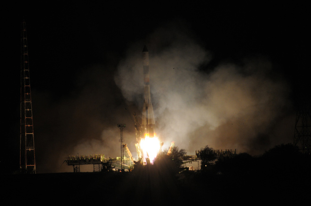 New Russian Cargo Ship Blasts Off for Space Station