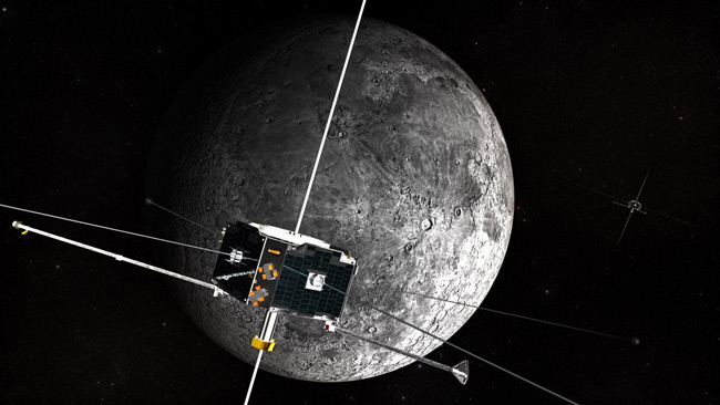 Twin Space Weather Probes Now Studying Moon's Interior