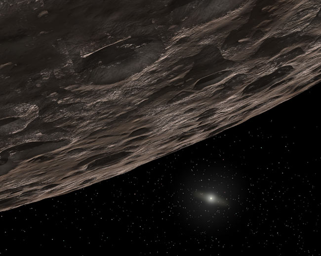 Icy Red Objects at Solar System's Edge May Point to Life's Building Blocks