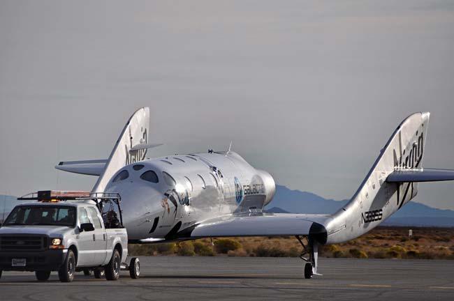 Virgin Galactic's SpaceShipTwo Spaceliner Completes 2nd Glide Flight