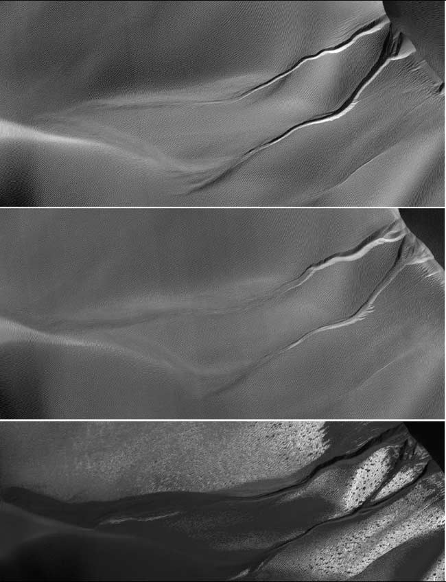 Mysterious Mars Gullies Likely Carved By Carbon Dioxide
