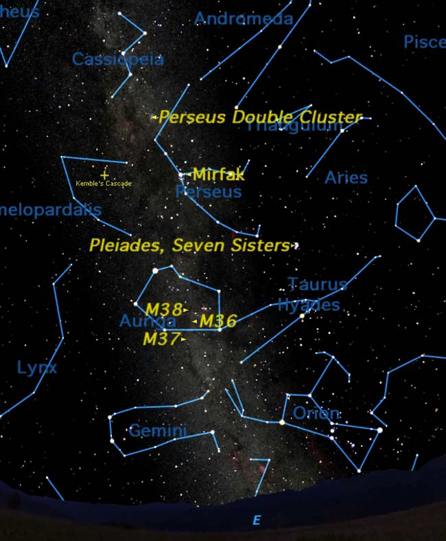 Thanksgiving Holiday Serves Up Star Clusters for Skywatchers