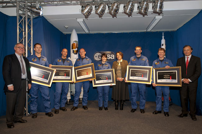 Europe's New Astronaut Class Makes the Grade