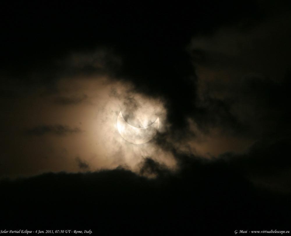 Partial Solar Eclipse Amazes Skywatchers in Europe