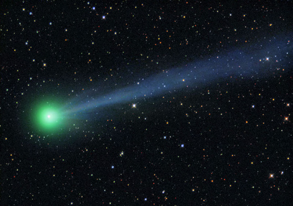 Comet McNaught C/2009 R1 was visible on June 6, 2010.