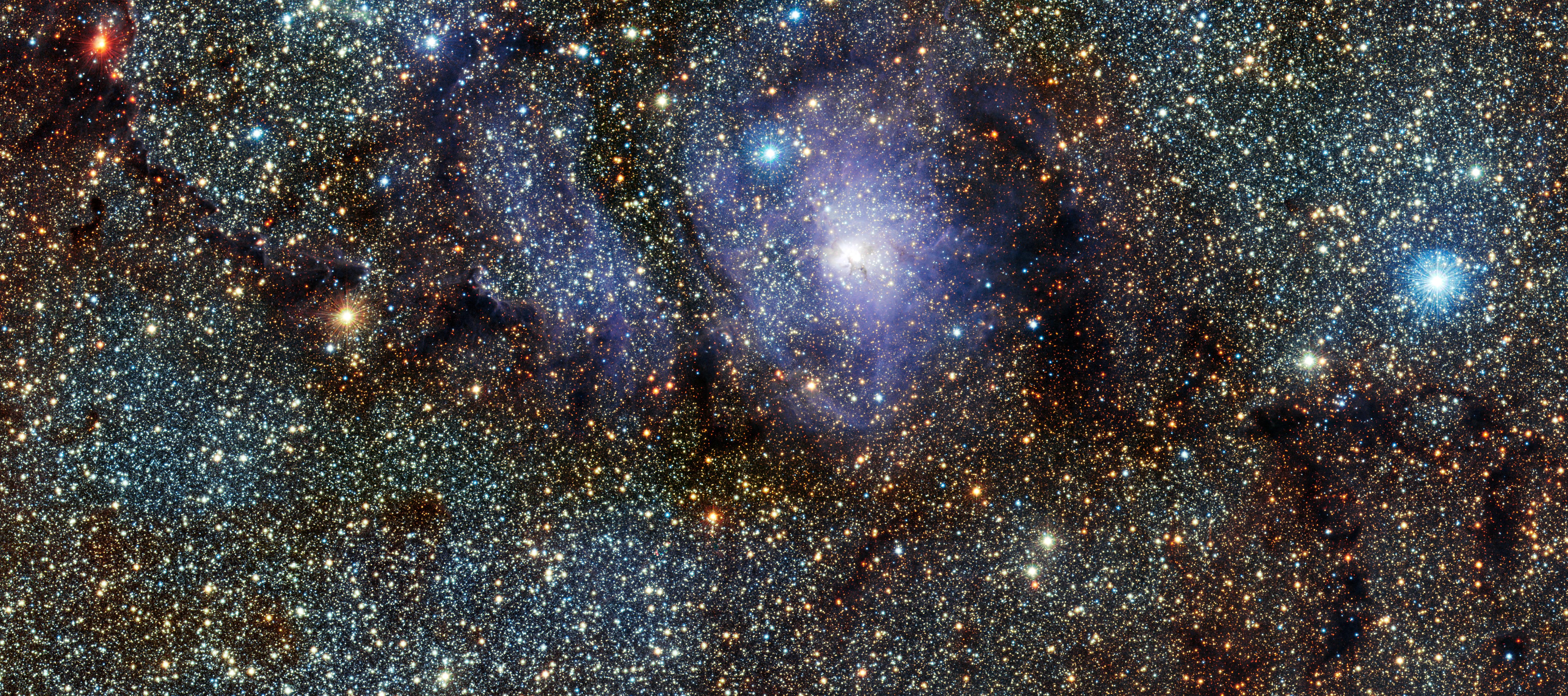 Lagoon Nebula's Stellar Baby Boom