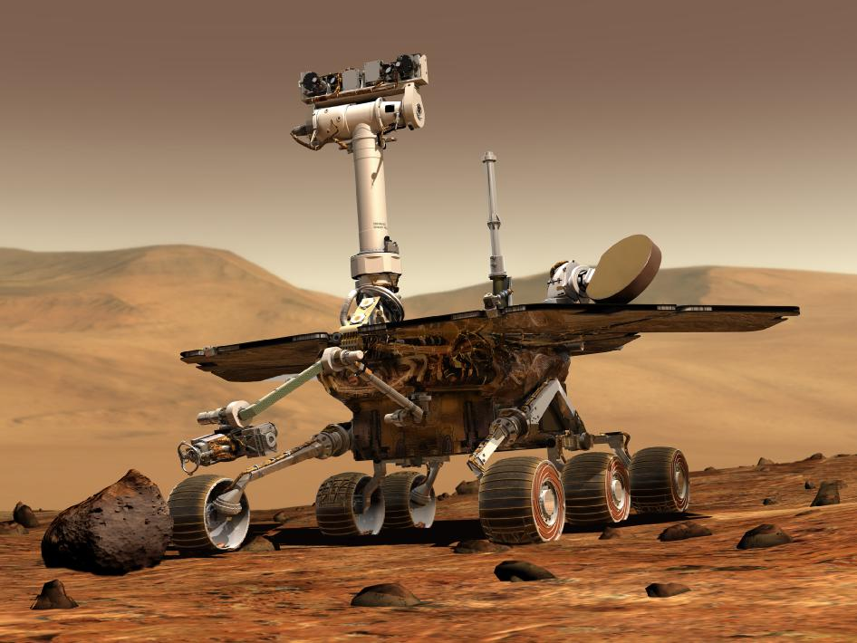 2004: Past Surface Water — Spirit and Opportunity
