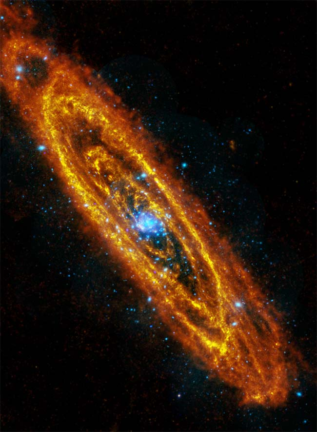 Andromeda Galaxy's Exotic X-Ray Signal Actually a Bright Black Hole