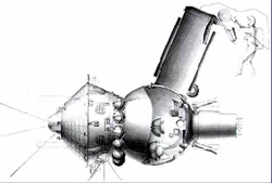 Multiple Cosmonauts aboard Voskhod