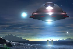Could Extraterrestrial Intelligence Sway Religious Beliefs?