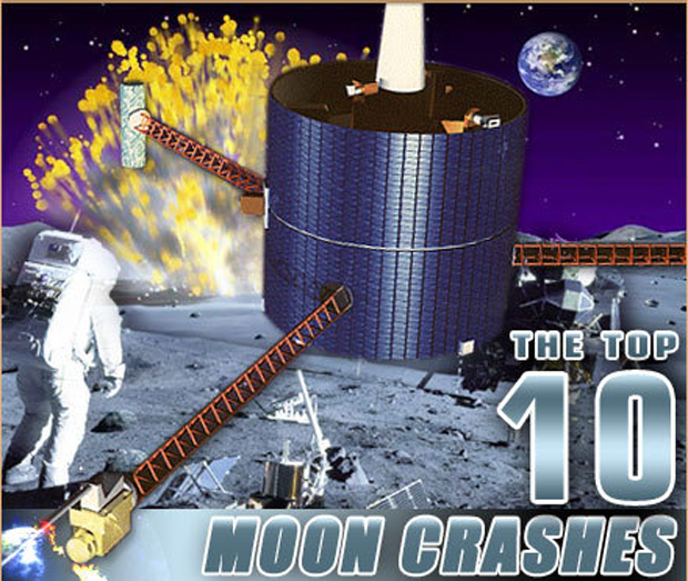 The Greatest Moon Crashes of All Time