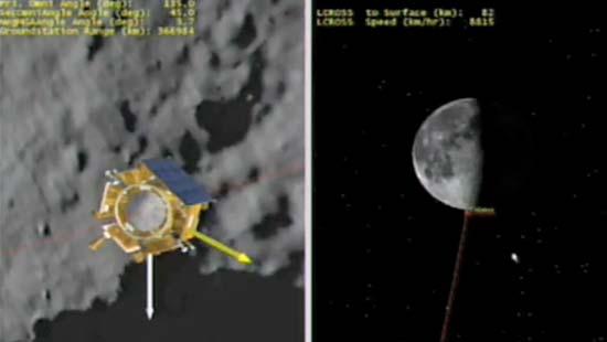 LCROSS/LRO Lunar Whammy