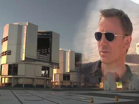 James Bond Penetrates The Very Large Telescope