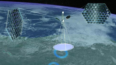 Air Force Eyes Space Nuclear Reactors, Beamed Power
