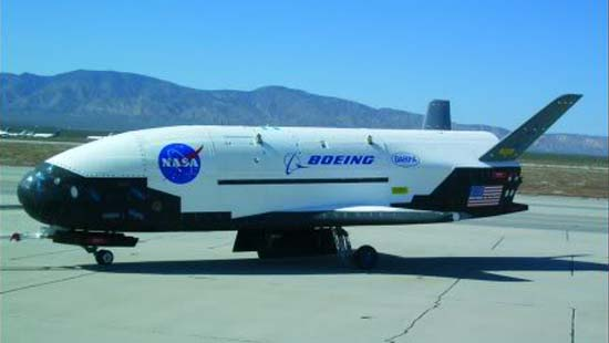 Secretive Air Force Space Plane Nears Orbital Record