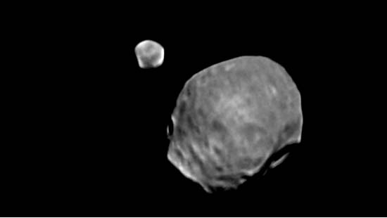 Martian Moons Pair Up
