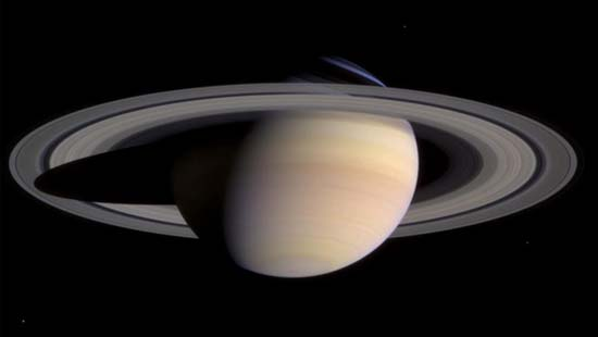Fabulous Saturn: Rings, Baubles and Spiky Spokes